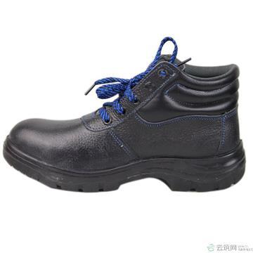 高腰黑压花牛面防砸防穿刺鞋(9041)L42# 42#(YZW专用)