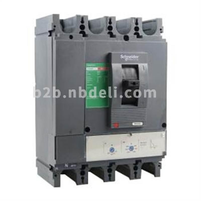 施耐德 塑壳断路器 CVS400N TM320D 4P3D(4P)固定式前接线 LV540318 个